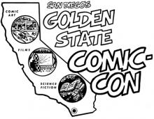 Golden State Comic-Con Logo 1970